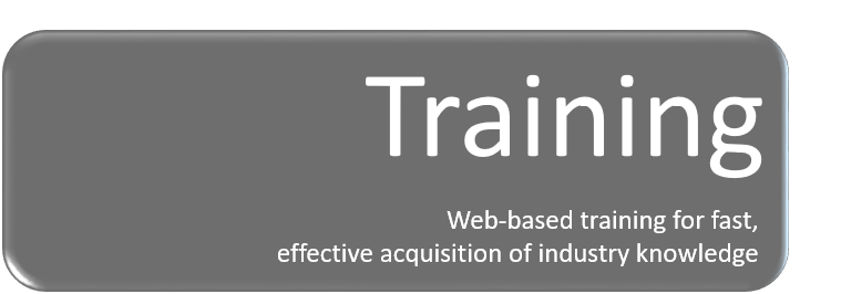 Web-based training for industry knowledge