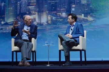Left to Right - Dangermond (Esri CEO)  Anagnost (Autodesk CEO).jpg