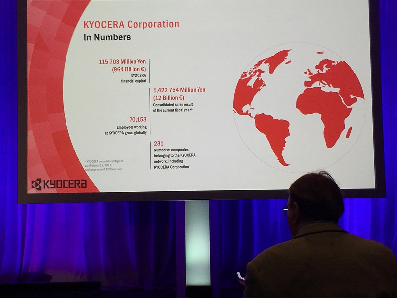 Kyocera's Enterprise IoT Solution at IFS World 2018