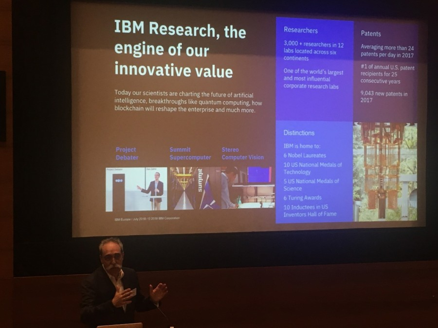 Juan Zufiria of IBM explains the importance of research