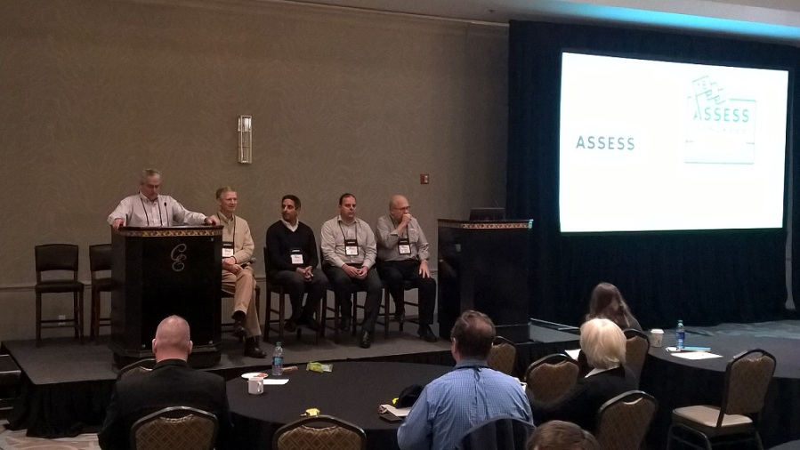 A session at the Assess Engineering Simulation conference 2018